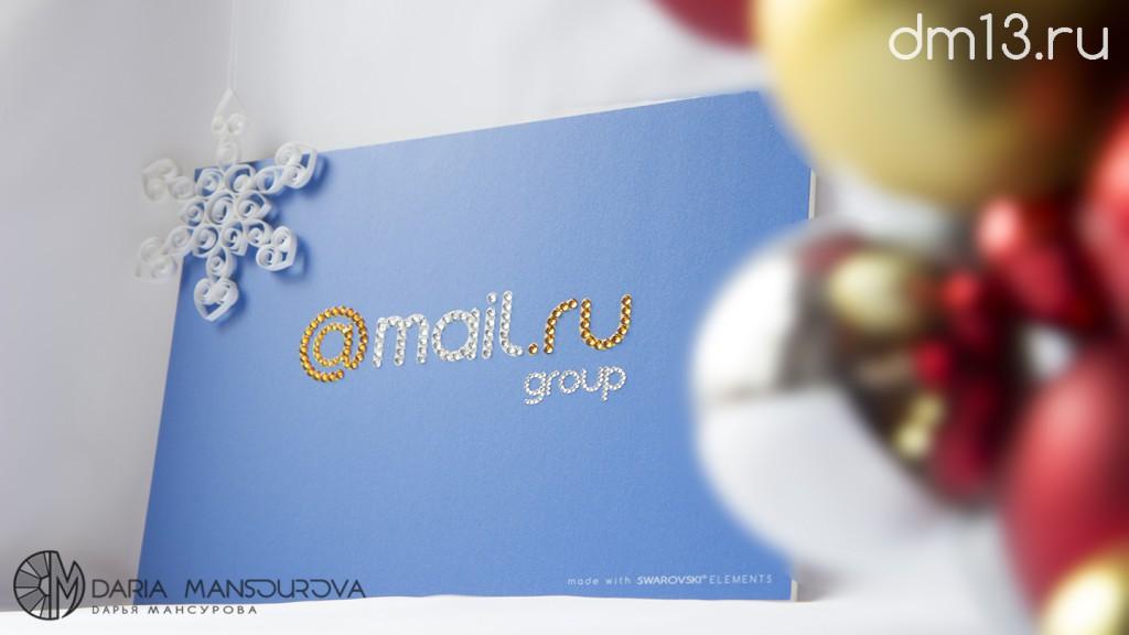 Стразы Сваровски на лого