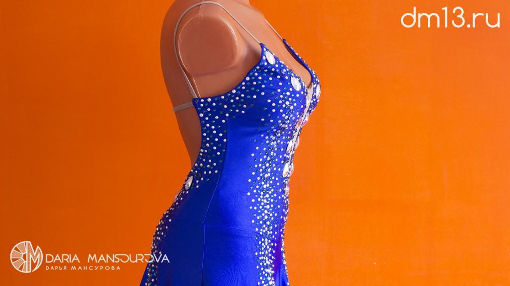 Бальное платье в стразах Сваровски